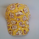 หมวกแก๊ป Pompompurin ปอมปอมบุริน ด้านหลัง ขยายได้นิดหน่อยค่ะ ขนาดรอบหมวก 23 นิ้ว สำหรับเด็กโต ผู้ใหญ