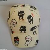 หมวกแก๊ป แบดแบดมารุ (BadBadtZMaru) ด้านหลัง ขยายได้นิดหน่อยค่ะ ขนาดรอบหมวก 23 นิ้ว สำหรับเด็กโต ผู้ใ