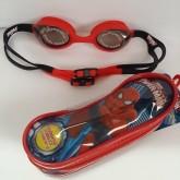 แว่นตาว่ายน้ำ สำหรับเด็ก ลาย สไปเดอร์แมน(Spiderman) ปรับสายได้ค่ะ