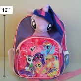 เป้ สะพายหลัง ลาย ม้าน้อย โพนี่ (My Little Pony) ขนาด 10x12 นิ้ว