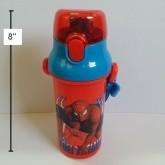 กระติกน้ำ สไปเดอร์แมน(Spiderman) แบบเทดื่ม ขนาดสูง 8 นิ้ว