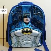 เป้ แบทแมน Batman ตัว แบทแมน ด้านหน้านูนขึ้นมาค่ะ ค่ะ ขนาด 10.5x13x4 นิ้ว