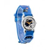 นาฬิกาเข็ม สายหนัง ลาย Batman แบทแมน ขนาดหน้าปัด 3 cm สายยาว 18 cm.