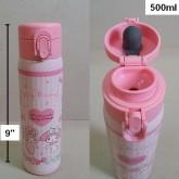 กระติกเก็บร้อนเย็น แบบเทดื่ม ลาย มายเมโลดี้ mymelody สูง 9 นิ้ว ความจุ 500ml