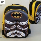 เป้ แบทแมน Batman ตัว แบทแมน ด้านหน้านูนขึ้นมาค่ะ ค่ะ ขนาด 11x15x5นิ้ว