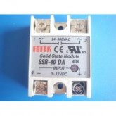 Single Phase Solid State Relay ,Input 3-32Vdc,Output 24-480Vac,กระแส 10-25-40A รุ่น SSR-DA Serie