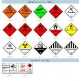 ป้ายขนส่งสารเคมีและวัตถุอันตราย (Hazardous Material Shipping Sign)