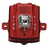 2 Wire Horn/Strobe Std Candela Red Outdoor รุ่น P2RK ยี่ห้อ system sensor