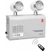 ไฟฉุกเฉินหลอด LED 2x3W ระบบไมโครคอนโทรลเลอร์ สำรองไฟ 8 ชม.รุ่น MCU203NC8LED ยี่ห้อ Sunny