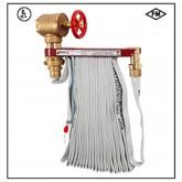 ชุดโฮสแล๊ค สายส่งน้ำดับเพลิง 2.5quot; ยาว 30 เมตร รุ่น 2570   ยี่ห้อ Potter Romer มาตรฐาน UL/FM