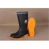 รองเท้าบู๊ทยางหัวเหล็ก  #10 (44)  รุ่น Water Guard