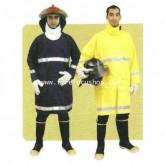 ชุดพนักงานดับเพลิง แบบชุดหมี ผ้า Normex lllX ขนาดน้ำหนักผ้า 6 OZ.