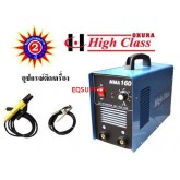 HIGH CLASS MMA160 เครื่องเชื่อมระบบ MMA AC 220V