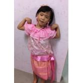 ชุดไทยเด็กหญิง ใส่แล้วสวยมาก