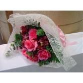 กุหลาบสีชมพู (bouquet)