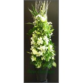 ดอกไม้กับแจกัน vase flower