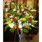 ของขวัญขึ้นบริษัท flower stand