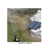 ปั้มน้ำพุพลังงานแสงอาทิตย์สูง 75 cm