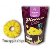 สับปะรดกรอบ Pineapple Chips ตรา Bee Fruit ขนาด 65 กรัม
