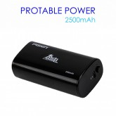 Pisen Power Bank 2500 mAh สีดำ