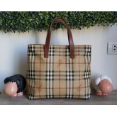 Burberry Canvas Handbag Tote