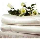 มายุคินุโกะ โกลเด้น ซิลค์  ผ้าห่มขนาดมินิ  120 X 200 cm. 280 g.(ผ้าไหมสีขาว ไม่มีลาย)