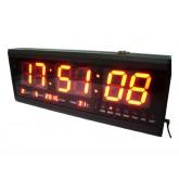 LED Clock Board : นาฬิกา LED ขนาดใหญ่(Board) สำหรับติดฝาผนัง มองเห็นได้ชัดเจน สำหรับโรงแรม โรงงาน