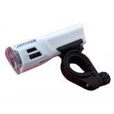 RAYPAL ไฟจักรยาน Numen HL 2.0 Headlight แบบใส่ถ่าน ไฟหน้า (สีขาว)