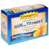 ขาย 30 ซอง Emergen-C รสส้ม วิตตามิน C แบบใหม่!!มาเป็นผง ใช้ผสมน้ำเย็นดื่มได้ทุกเวล