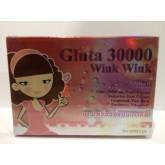 ผิวขาวใสวิ้งวิ้งแบบเกาหลี Gluta 30000 Wink Wink 7 in 1 ใหม่ล่าสุดและมาแรง - 10 เม็ด