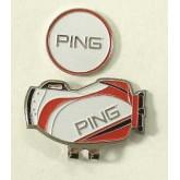 Ping Golf Magnetic Clip คลิปเหล็ก ติดหมวกนักกลอ์ฟทั้งหลาย ดูดีสร้างความเชื่อมั่นให้ตัวเองในสนามกลอ์ฟ