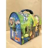 Toy Story กล่องใส่อาหารกลางวัน,กล่องใส่ของเล่น,กล่องใส่ของอเนกประสงค์ มีหู้หิ้ว ของแท้ สำหรับเด็ก