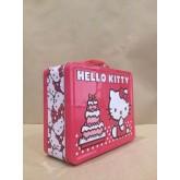 Hello Kitty กล่องใส่อาหารกลางวัน,กล่องใส่ของเล่น,กล่องใส่ของอเนกประสงค์ มีหู้หิ้ว ของแท้