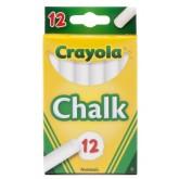 Crayola สีชอล์กขาว 1 ชุด 12 แท่ง รุ่น 51-0320 (1 แพ็คมี 12 ชุด)