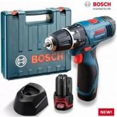 สว่านเจาะกระแทกไร้สาย บ๊อช Bosch GSB 120-LI Professional
