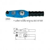 "Unior ด้ามขันปอนด์ แบบเกจ ขนาด 1/4"" 2.4-12.0 Nm / 4-120 lbf.in (1/4"" Dial Torque Wrench) 260"