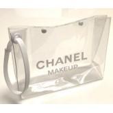 Chanel Transparent Cosmetic Bag กระเป๋าใส่ของสำอางพลาสติกใส