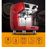 เครื่องชงกาแฟเอสเปรสโซ่ 1 หัวกรุ๊ป 2700W. สีแดง 1614-186-C03