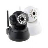 กล้องวงจรปิดไร้สายราคาถูก ดูผ่านมือถือ รุ่น PnP(T6836) IPCAM ใส่เมมโมรี่ได้สูงสุด 32 GB.