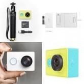 กล้อง Xiaomi Yi Action Camera (Travel Version) สีขาว