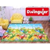 Dwinguler Playmat Size L ลายขบวนพาเหรด