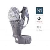 เป้อุ้มเด็ก POGNAE Hip Seat - No.5 Gray