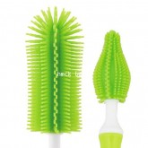 Loreley-Silicone baby bottle brush  nipple brush set Green
