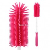 Loreley-Silicone rotate bottle brush Pink