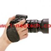 NT-MT-M6779 สายรัดข้อมือกล้อง MATIN รุ่น  M-6779 กริ๊ป-๑ หนังแท้ สีดำ