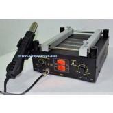 เครื่องถอดเปลี่ยนไอซีขนาด 1050W BGALAB 853AH Quartz Infrared +Hot air