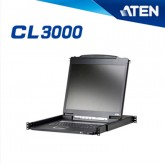 ATEN KVM Switch CL3000 Lightweight PS/2-USB LCD Console
