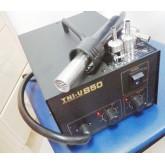 เครื่องเป่าลมร้อน TNI-U 850 Digital SMD Hot Air Gun Rework Soldering Station