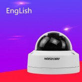 Spot Pure English Hikvision DS-2CD2135FWD-IS 3MP Ultra-Low LightCamera