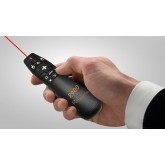 ideecraft Air Mouse Presenter K03 with Universal Remote Control, Avaialble in Black